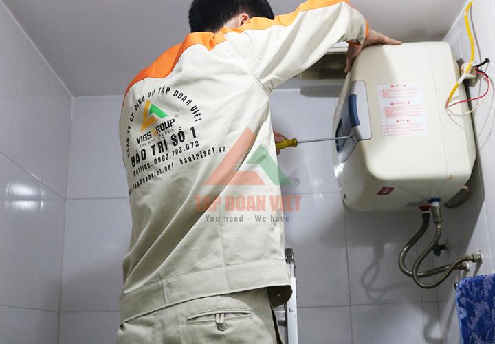 Chỉ bạn cách sửa chữa bình nóng lạnh tại nhà với các lỗi đơn giản