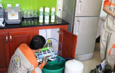 Những lỗi trên máy lọc nước hay gặp và cách khắc phục