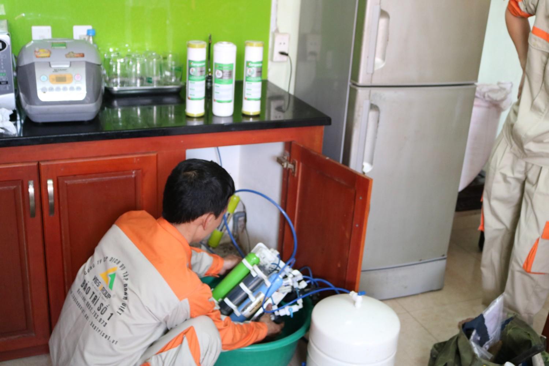 Đội ngũ bảo trì máy lọc nước tại hà nội chuyên nghiệp của Chuyên Gia Sửa Chữa