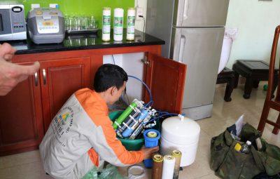 Nguy hiểm từ việc không thay lõi lọc nước thường xuyên