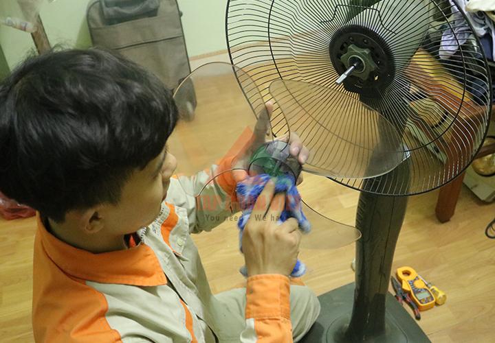 sửa quạt điện không quay và các sự cố khác