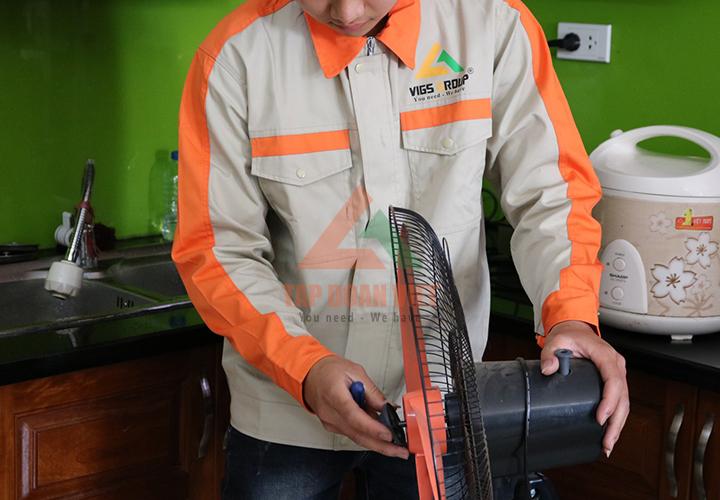 Đơn vị sửa quạt điện asia uy tín - đảm bảo chất lượng