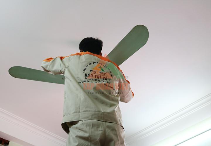 Sửa quạt Panasonic tại nhà