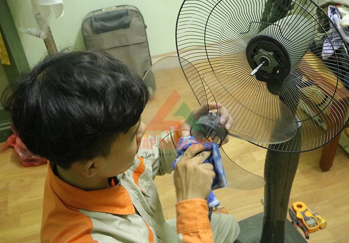 Những lưu ý khi sửa quạt điện bị đứt dây đồng