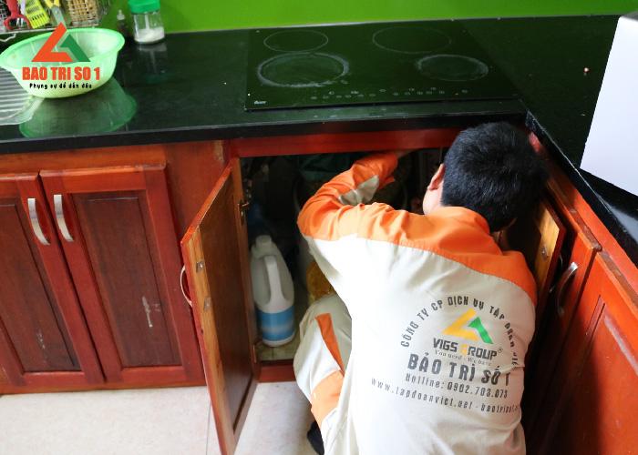 Sửa bếp từ Munchen hỏng quạt tản nhiệt có bảo hành tại nhà