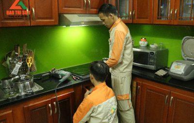 Sửa bếp từ Electrolux tại quận Cầu Giấy