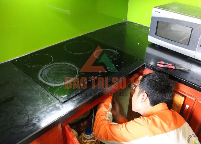 Cách sử bếp từ không nóng