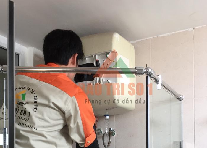 Kỹ thuật kiểm tra lỗi và khắc phục lỗi bình nóng lạnh không ra nước