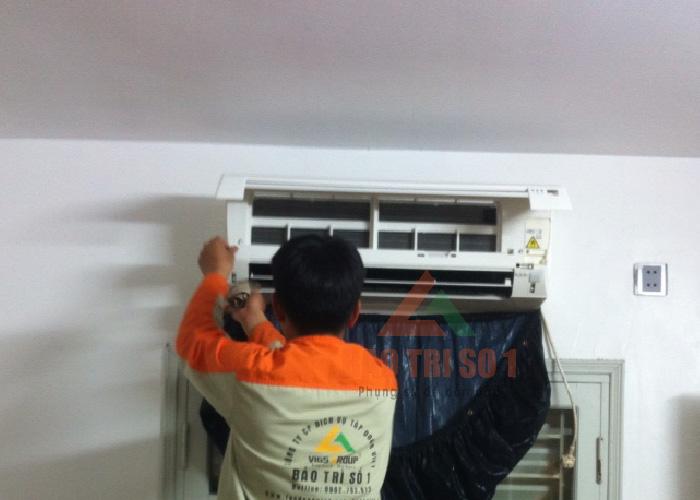 Bảo dưỡng điều hòa tại Hà Nội trên 12 quận Hà Nội nhanh chóng
