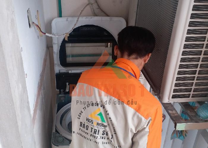 sửa máy giặt toshiba mất nguồn tại nhà