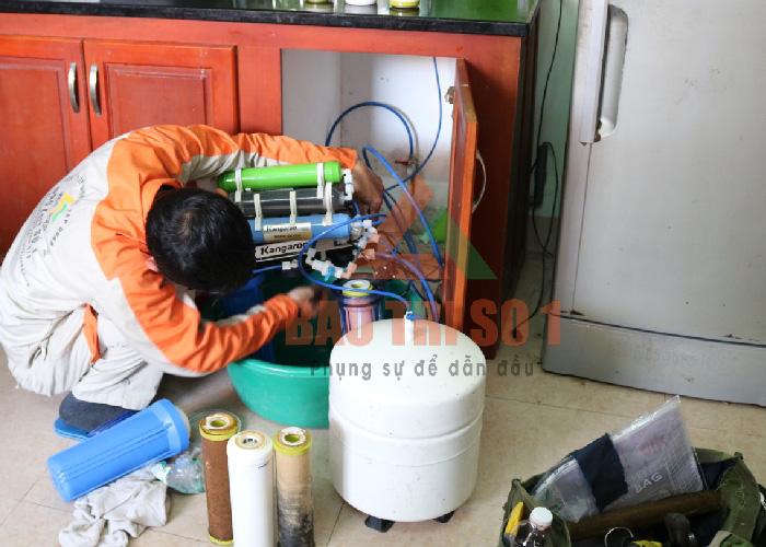 Bật mí dịch vụ sửa máy lọc nước tại Hoàng Mai