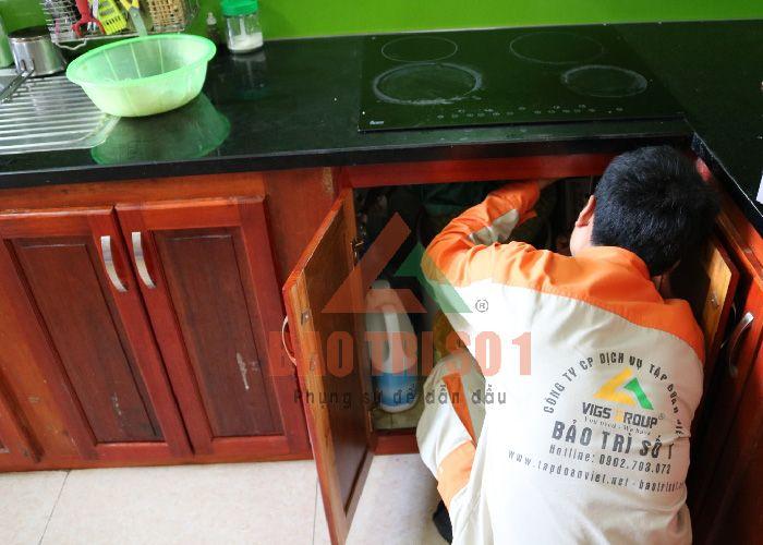 sửa chữa bếp từ panasonic tại nhà hà nội